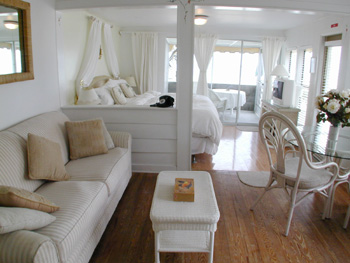 Open Plan Living at this Anna Maria Rental