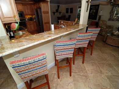 Kitchen Bar Seats Four