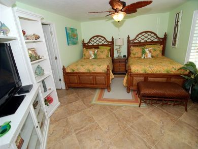 Two Double Beds in Fourth Bedroom