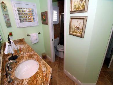Dual Vanity in Master Bedroom