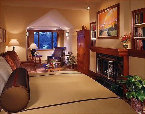 Designer Decorated Vail Bedroom