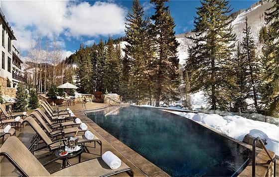 Vail Spa Pool at Mountain Base