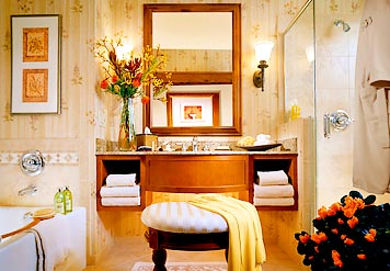 Sample luxurious bathrooms