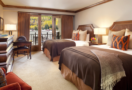 Sample Bedroom with Two Queen Beds