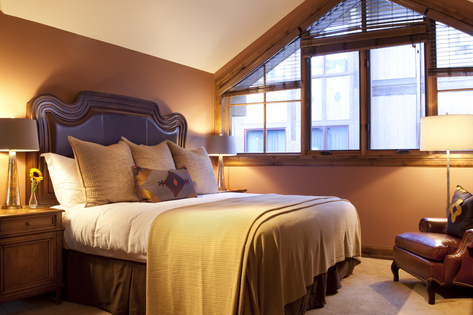 Sample Bedroom with King Bed