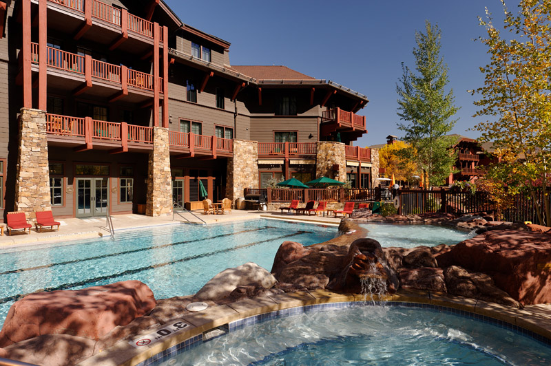 Aspen, Colorado ski in ski out rental condo with pool