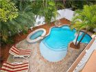 4 bedroom plus den Private pool rental West of Gulf Drive