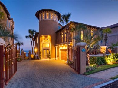 Exterior View of Beach Front Luxury Home