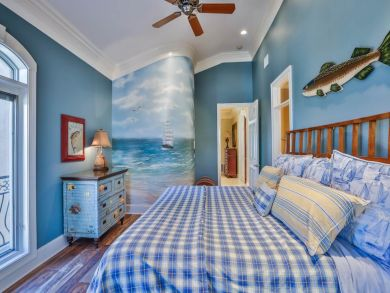 Fourth Bedroom has King Bed
