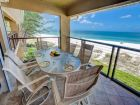 Balcony with Outdoor Dining Table & Chairs