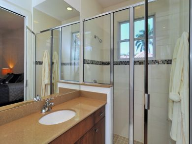 Ensuite bathroom with walk-in shower