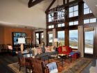 Spectacular views from Vail rental home for skiing