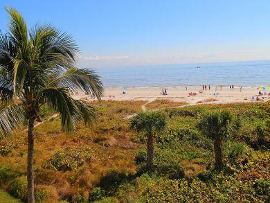 Beach Front Rental Condo in Sanibel, Florida