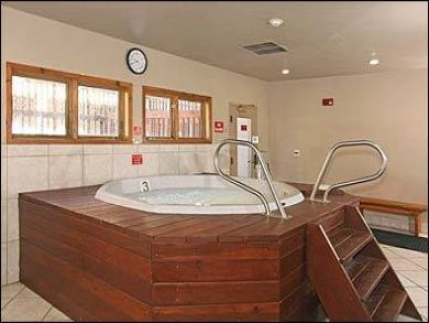 Community indoor hot tub