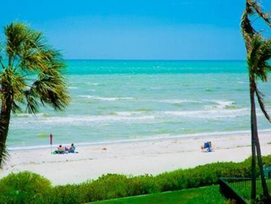 Beautiful gulf and beach views