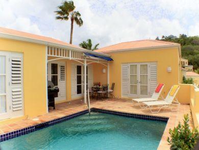 Oceanview Two Bedroom Rental Home in St. Croix