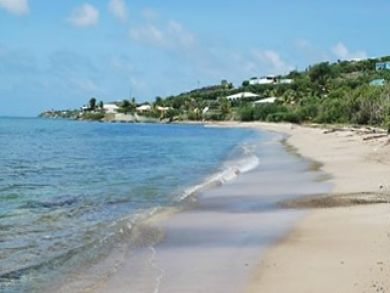 Walk to sandy beach