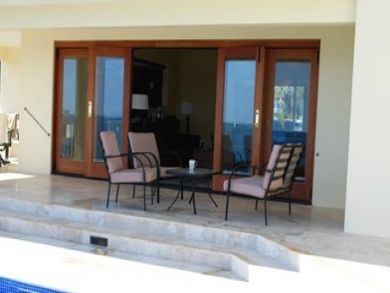 Porch with outdoor furniture