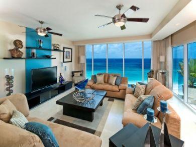 Beachfront rental penthouse in Christ Church, Barbados