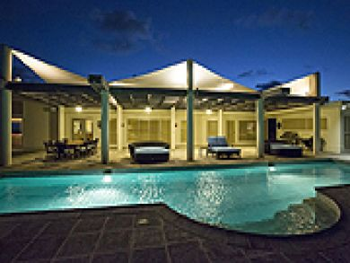 Beach front rental home with pool in St. Croix, US Virgin Islands