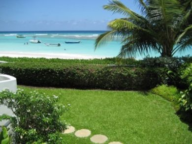 Beachfront vacation condo in Christ Church, Barbados