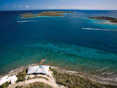 Sea front rental home in St. Thomas, US Virgin Islands