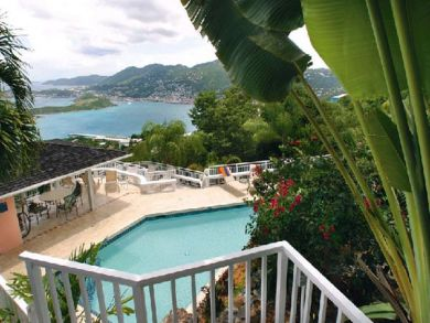 Sea view villa for rent with pool in St. Thomas, US Virgin Islands