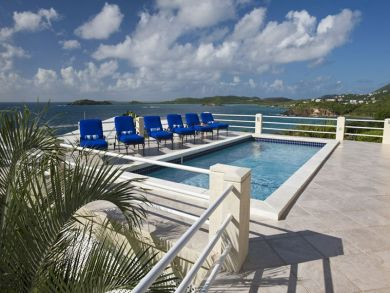 Sea front deluxe home for rent in St. Thomas, US Virgin Islands
