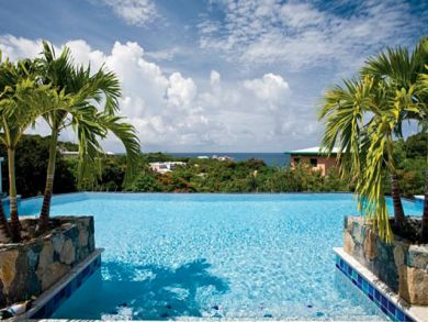 St. Thomas, US Virgin Islands rental home with pool