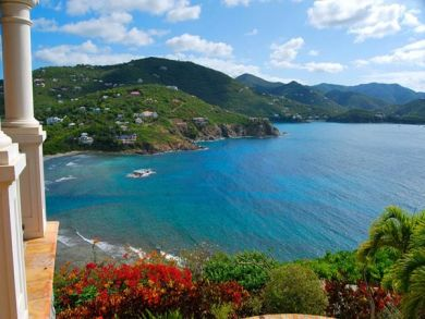 St. John, US Virgin Islands home for rent with ocean view