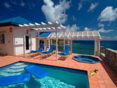 St. John, US Virgin Islands vacation villa with pool & hot tub