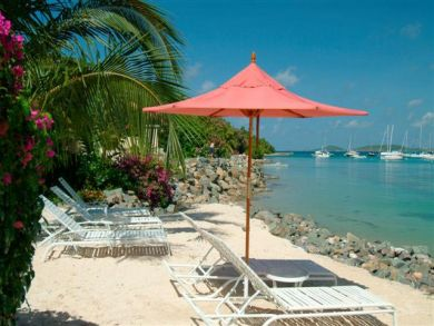 Beach front home for rent in St. John, US Virgin Islands