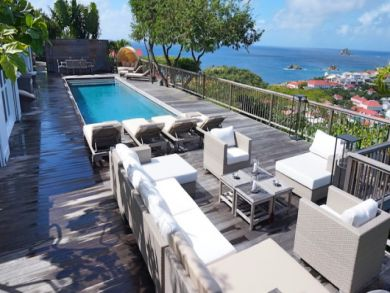 Beautiful vacation home in Gustavia, Martinique