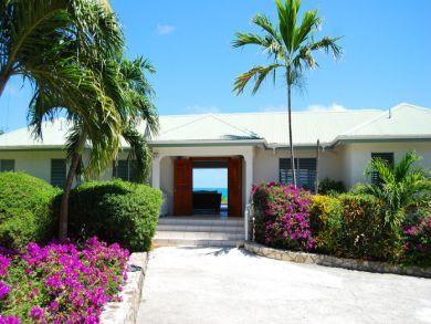 Beach front home in Antigua & Barbuda
