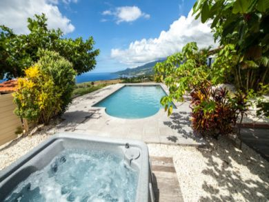 Three Bedroom Rental with Great Caribbean Sea Views Sleeps 8