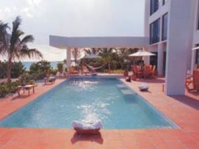 Luxury beach front rental home in Anguilla
