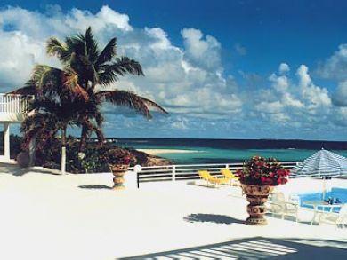 Ocean front pool deck