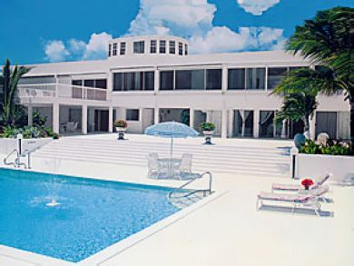 Beach front home for rent with pool in Anguilla