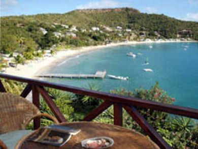 Beach front vacation home in Antigua & Barbuda