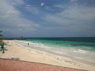 Beach front vacation villa in Jamaica