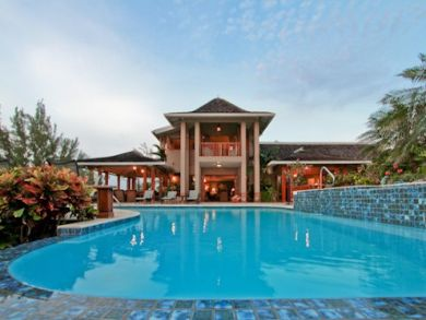 Luxury rental home with pool in Jamaica