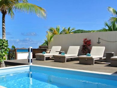 Flamands Beach, St Barts rental villa with private pool