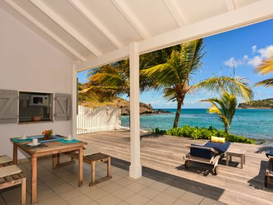 Very nice villa extremely well located on Lorient Beach, St Barts