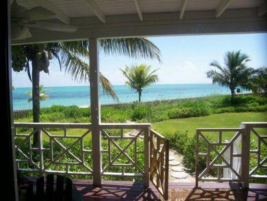 Beach view porch