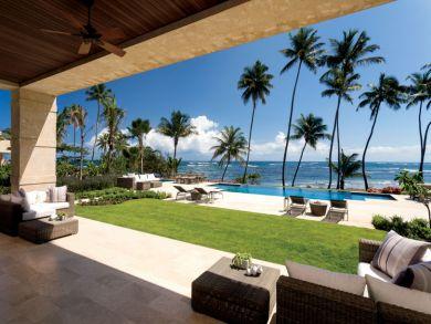 Beach front villa in Dorado Beach, Puerto Rico
