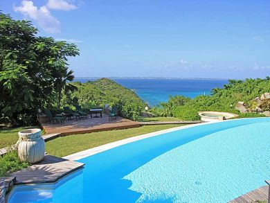 Ocean view vacation rental with pool in Anse Marce, St Martin
