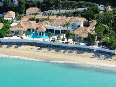 Grande Case, St Martin vacation home on beach