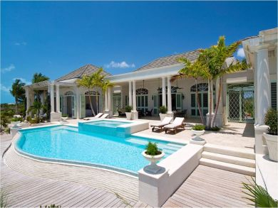 Excellent vacation home in Long Bay Beach, Turks and Caicos