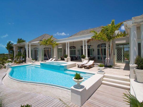 Turks & Caicos Luxury Villa Beach 7,000 sq Ft.