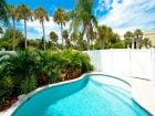 Private pool Anna Maria rental for 6 at value pricing